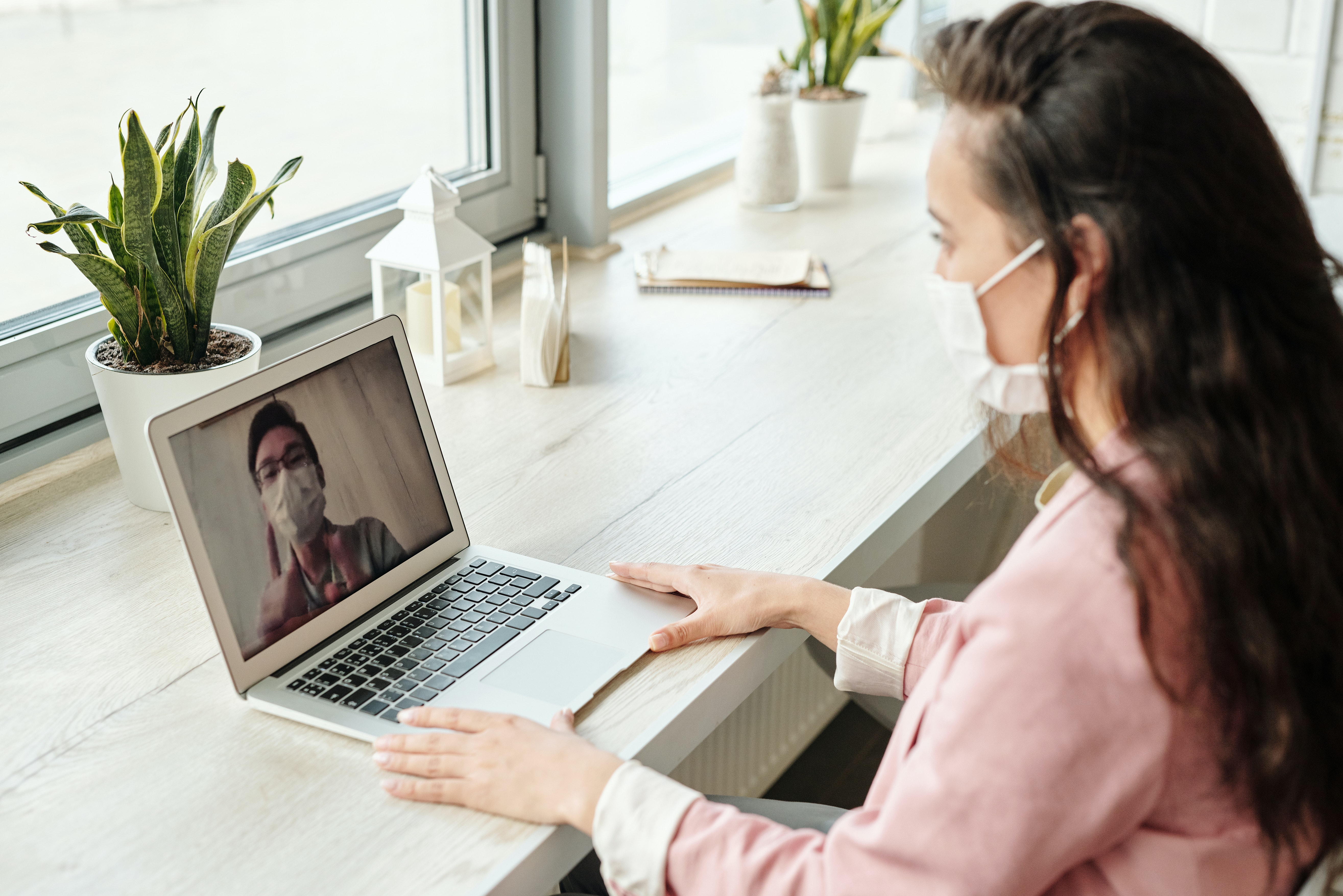 Woman having telehealth appointment Photo by Edward Jenner from Pexels